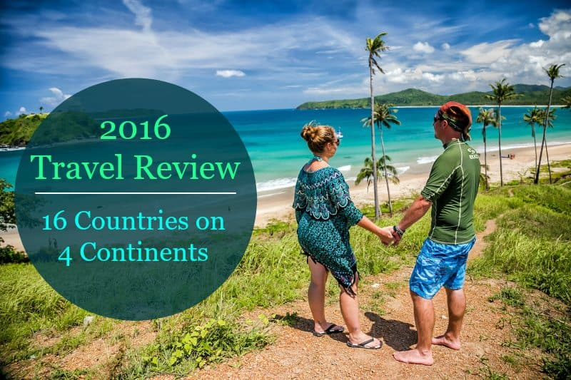 2016 Travel Review: 16 Countries on 4 Continents | Divergent Travelers